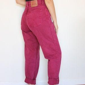 Vintage Levi's 551 Mom Jeans